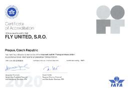 IATA certifikát